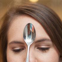 triki kosmetyczne z łyżką - krok 9