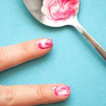 triki kosmetyczne z łyżką - krok 10
