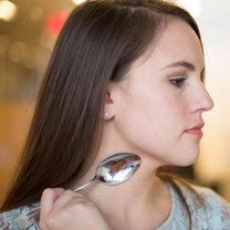 triki kosmetyczne z łyżką - krok 12