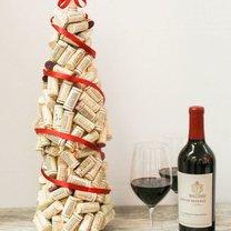 choinka z korków po winie