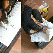 Ozdobne butelki krok 1