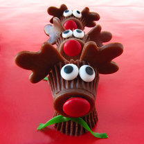 Jak zrobić czekoladki w kształcie renifera?