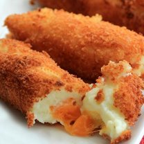 Krokiety z sera i ziemniaków