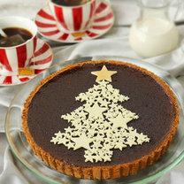 Jak zrobić świąteczną tartę z choinką?