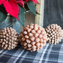 Jak zrobić świąteczne kule z orzechów?