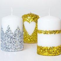 Jak zrobić ozdobne świece?