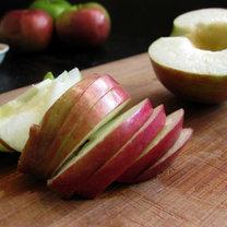 Plasterki jabłek