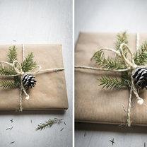 3 proste sposoby pakowania prezentów krok 1