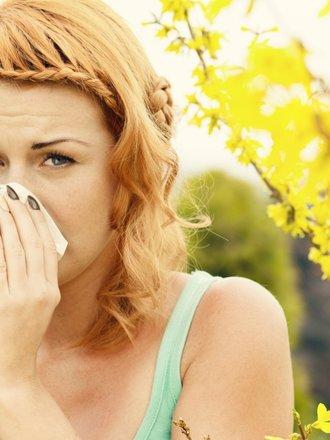wiosenne przeziębienie