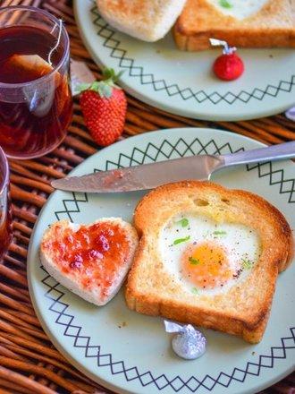 tosty walentynkowe
