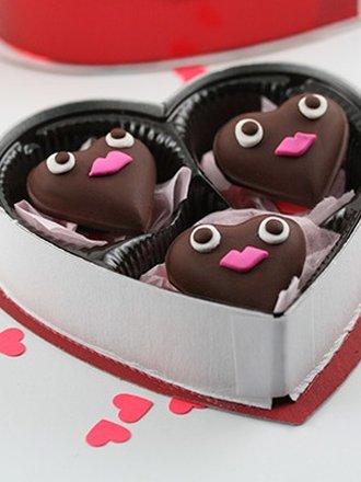 magnesy czekoladki