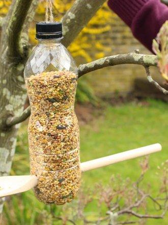 Jak Zrobić Karmnik Z Butelki Plastikowej I łyżki Porada Tipypl
