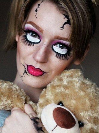 Jak Zrobić Makijaż Na Halloween Przerażająca Lalka Porada Tipypl