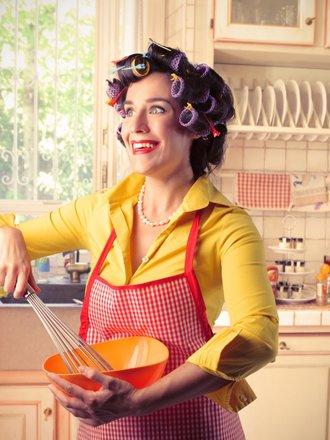 perfekcyjna pani domu w kuchni