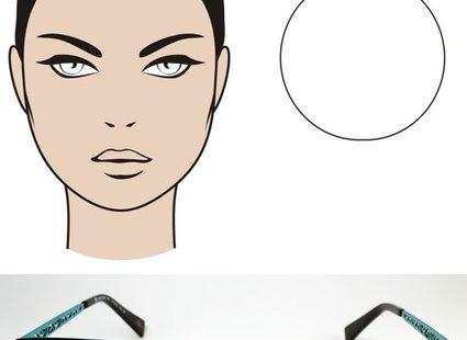 okulary dla twarzy okrągłej