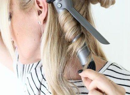 fale na włosach - krok 3