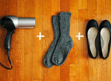 sposoby na niewygodne buty - krok 4