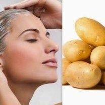 maseczka z ziemniaka