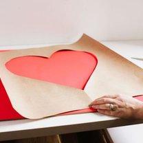 Jak zrobić serce ze sznureczków krok 3
