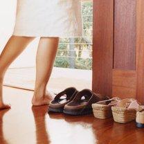 Zarazki na butach