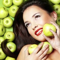 maseczka z jabłek