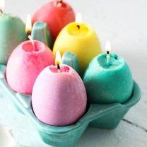 wielkanocne świeczki