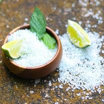 Miętowa sól do kąpieli