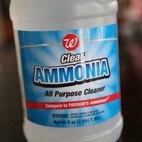 Wybielanie ubrań amoniakiem