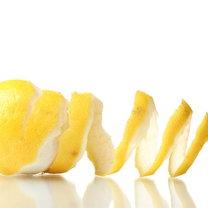 skórka z cytryny