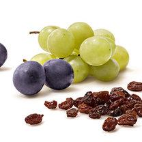 Winogrona i rodzynki trujące dla zwierząt
