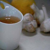 Jak zrobić czosnkową herbatę