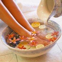 Imbirowa kąpiel stóp