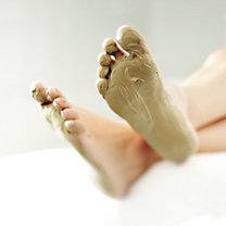 maseczka na stopy