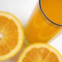 Sok z pomarańczy.