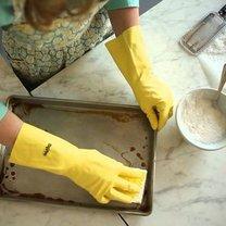 piekarnik blacha czyszczenie
