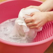 pranie z szamponem