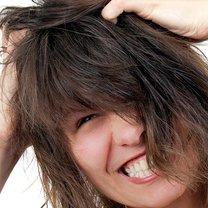 problemy z włosami