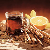 herbata z cynamonem