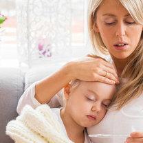gorączka u dziecka 1