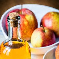 odciski ocet jabłkowy
