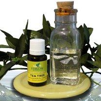 łamliwe paznokcie olejek herbaciany
