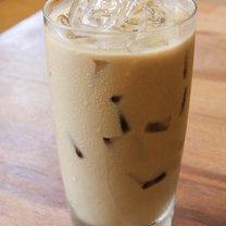 Jak zrobić wegański, mrożony koktajl  kawowy krok 2