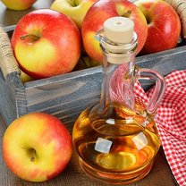 ocet jabłkowy włókniak