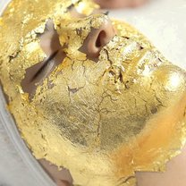 maseczka ze złota