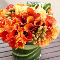 układanie kwiatów