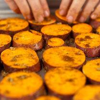 Karmelizowane bataty krok 2