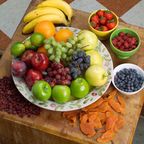 owoce po trenigu