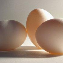 trzy jajka