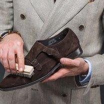 zamszowe buty pielęgnacja