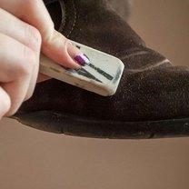 pielęgnacja butów zamszowych